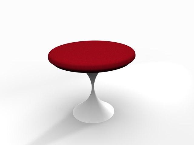 chair puff 3d model