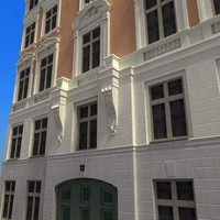 3d european building stockholm res model