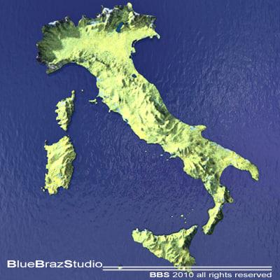 c4d italy maps