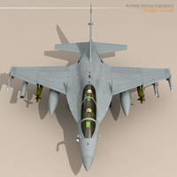 3d m-346 striker fighters model