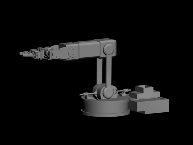 max robotic arm rigged