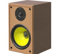 speaker 3d dxf