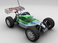 3d radio control rc car