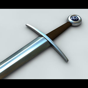 3ds max historical sword 1325