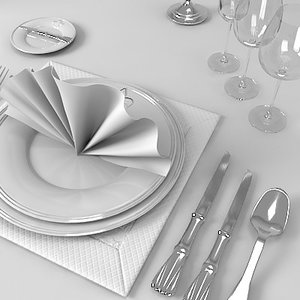 3dsmax table appointments