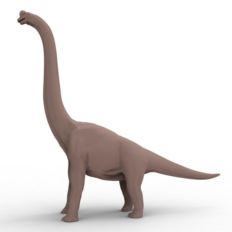 obj ultrasaurus dinosaur cretaceous