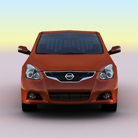 3d model 2010 nissan altima coupe