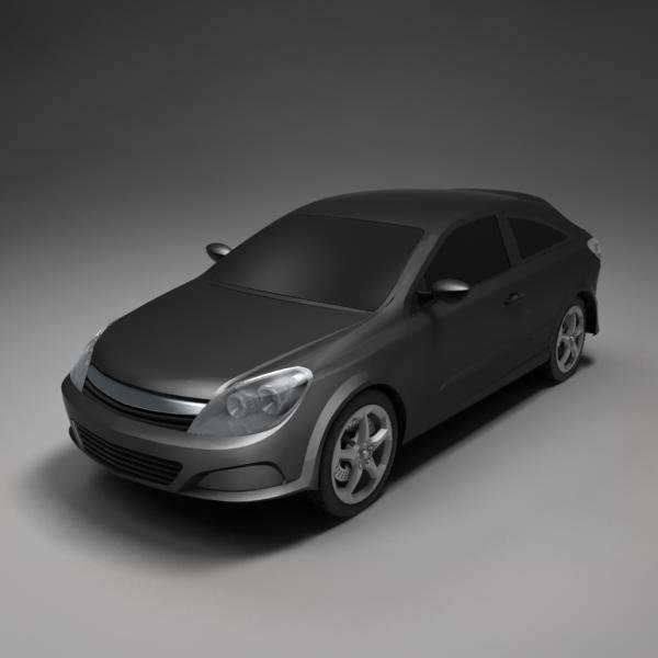 3d model astra