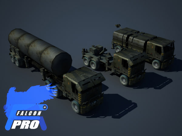 chemical deffence truck kit 3d max