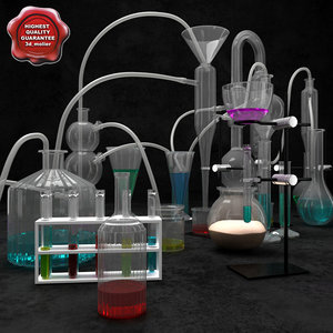 3d chemical equipment model