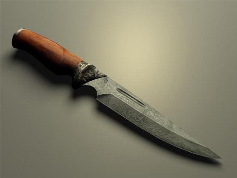 3d hunt knife