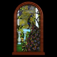 3ds max stained glass window