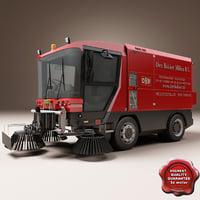 ravo 560 street cleaner 3d obj