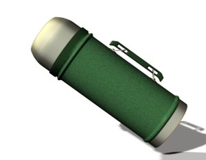 3d thermos packing hot