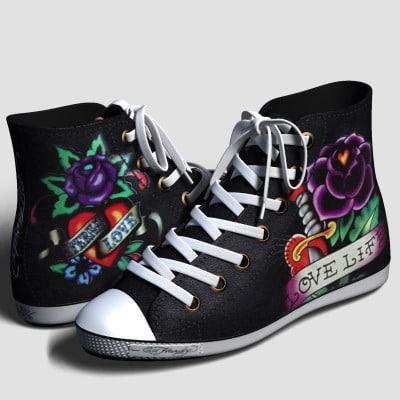 3d shanghai shoes