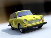 Trabant 601 Combi c4d
