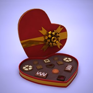 lightwave valentine heartchocolate