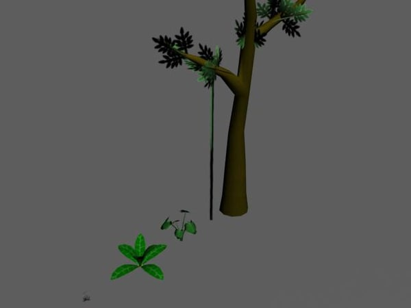 free jungle pack 3d model