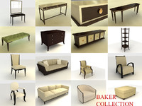 3d baker style furniture