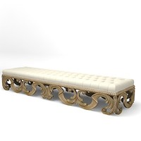 christopher guy banquette 60-0241 3d model