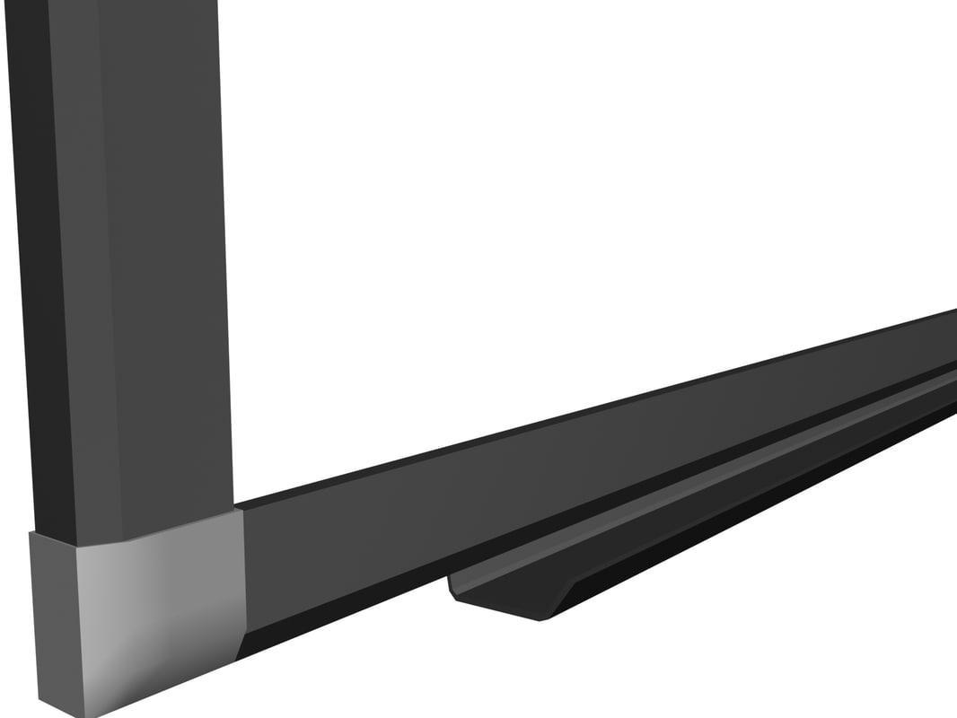 white board 3d model