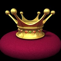 3d kings crown model
