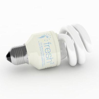 energy saving fluorescent light 3d 3ds
