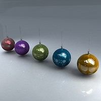 free max model christmas orbs