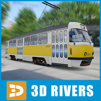 Moscow tramway by 3DRivers