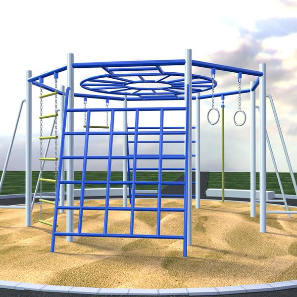 children playground obj