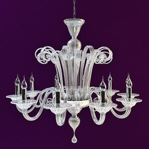 chandelier fendi 3d model