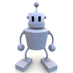 3d original robot model
