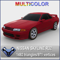 lightwave nissan skyline r32