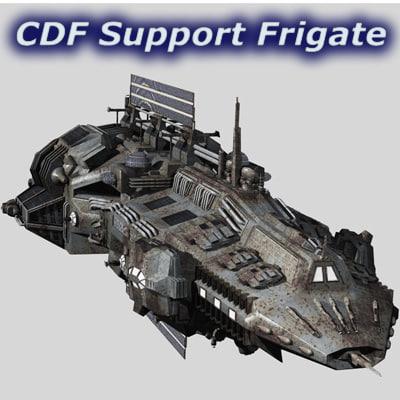maya support frigates cdf