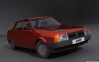 Fiat (Tofas) Sahin/Regata 3D Model