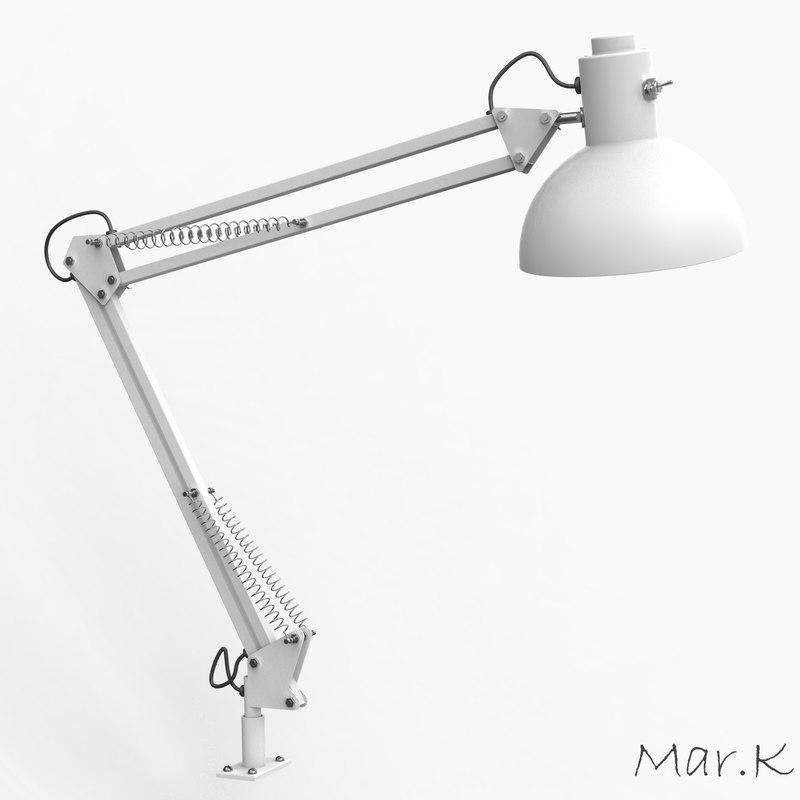 angle lamp c4d