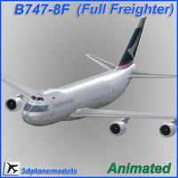 lwo b747-8 pacific cargo plane 747