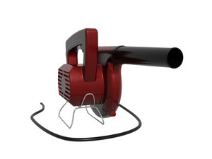 3d electrical blower air blowing model
