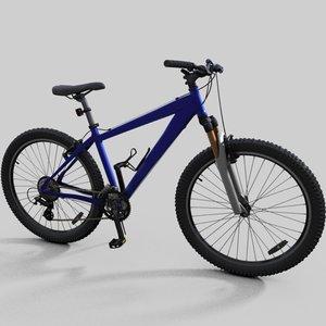 mountain bike specialized hardrock 3d model