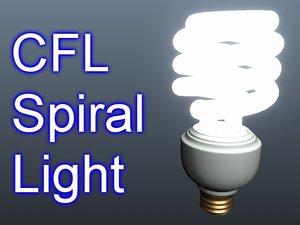 3ds max cfl light bulb