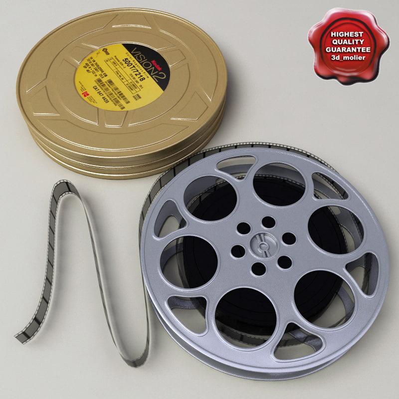 3d kodak negative film model