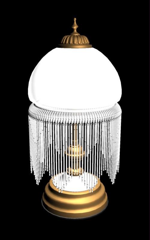3dsmax parlour lamp