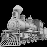 4-6-0 Steam Locomotive