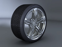Audi RS6 Wheel and Tyre