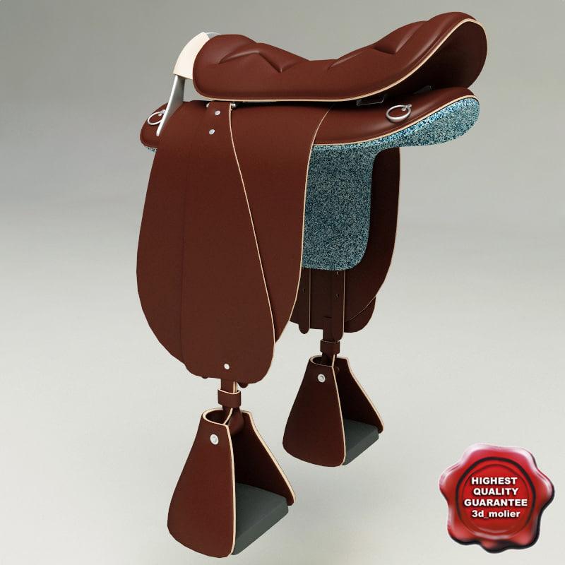 3ds max saddle icelandic