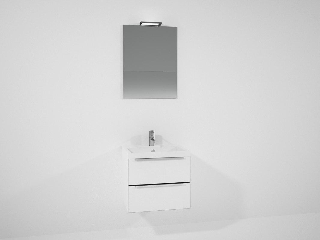 3ds bathrooms wash basin