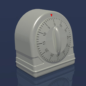 3d kitchen timer timing