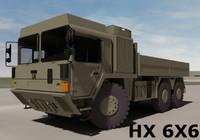 MAN HX 77 6X6 Military Truck System
