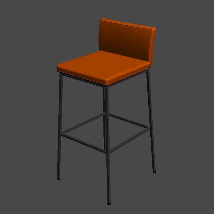3d model b chair