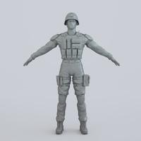 3ds max man armor